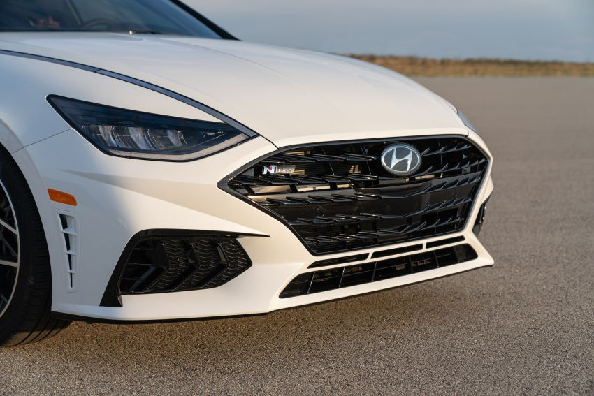 2021 Hyundai Sonata N Line – now with sportier looks Image #1180847