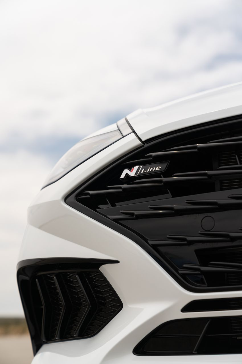 2021 Hyundai Sonata N Line – now with sportier looks Image #1180853