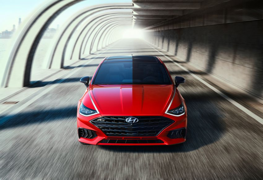 2021 Hyundai Sonata N Line – now with sportier looks Image #1180821