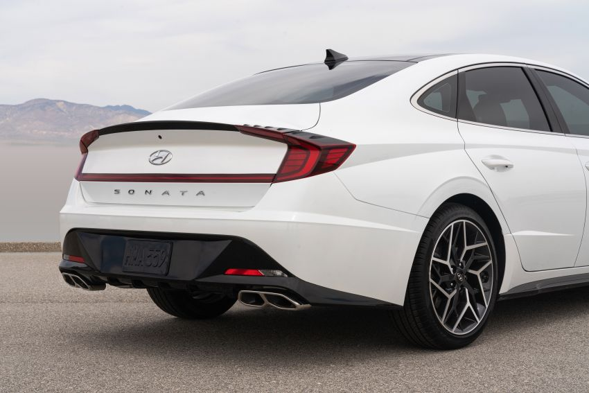 2021 Hyundai Sonata N Line – now with sportier looks Image #1180857