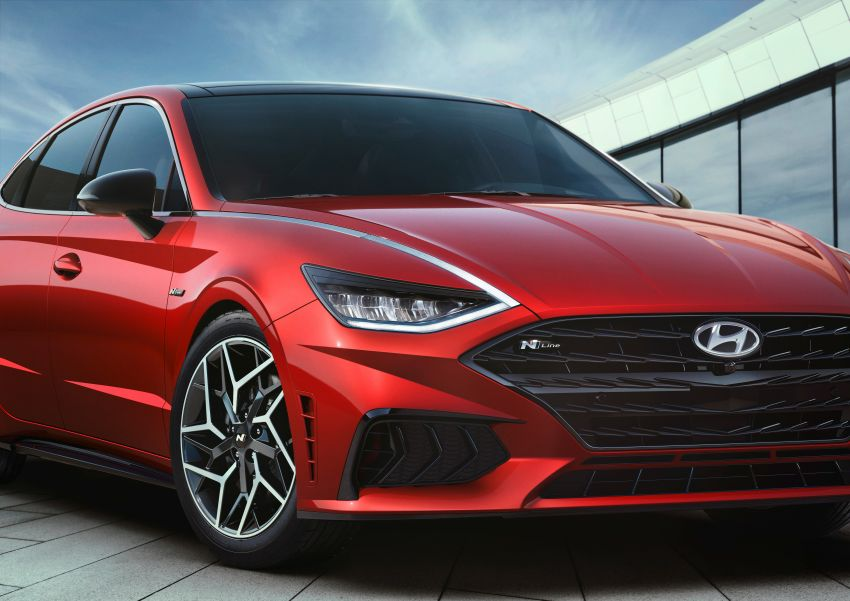 2021 Hyundai Sonata N Line – now with sportier looks Image #1180823