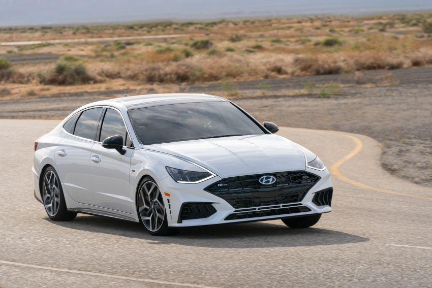 2021 Hyundai Sonata N Line – now with sportier looks Image #1180825