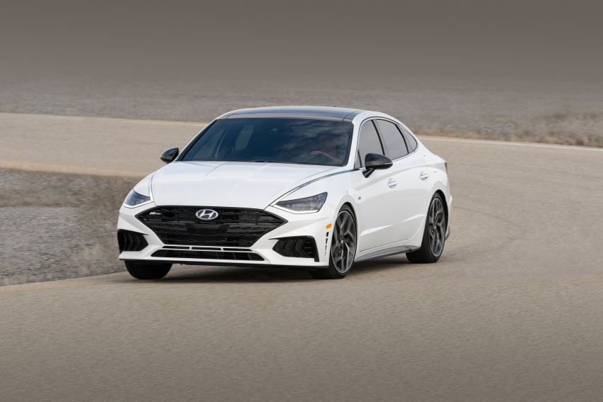 2021 Hyundai Sonata N Line – now with sportier looks Image #1180827