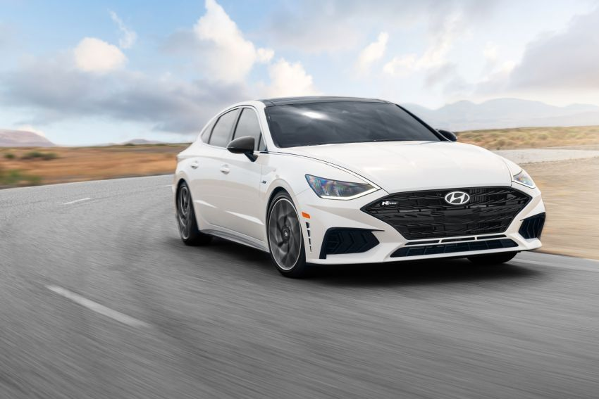 2021 Hyundai Sonata N Line – now with sportier looks Image #1180828