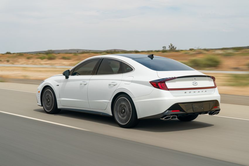 2021 Hyundai Sonata N Line – now with sportier looks Image #1180829