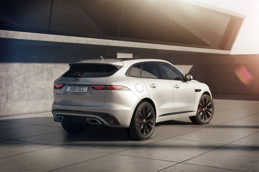 2021 Jaguar F-Pace – revised exterior and cabin, Pivi Pro, 404 PS/640 Nm P400e 2.0L turbo plug-in hybrid Image #1177034