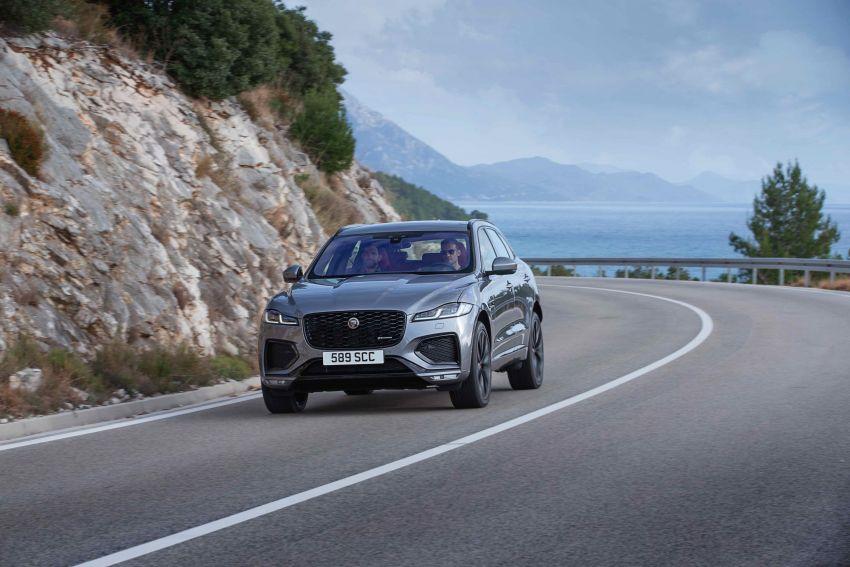2021 Jaguar F-Pace – revised exterior and cabin, Pivi Pro, 404 PS/640 Nm P400e 2.0L turbo plug-in hybrid Image #1177098