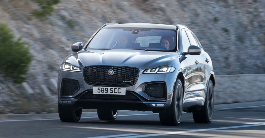 2021 Jaguar F-Pace – revised exterior and cabin, Pivi Pro, 404 PS/640 Nm P400e 2.0L turbo plug-in hybrid Image #1177102