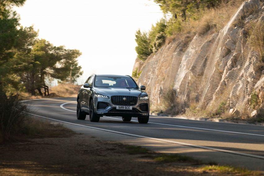 2021 Jaguar F-Pace – revised exterior and cabin, Pivi Pro, 404 PS/640 Nm P400e 2.0L turbo plug-in hybrid Image #1177096