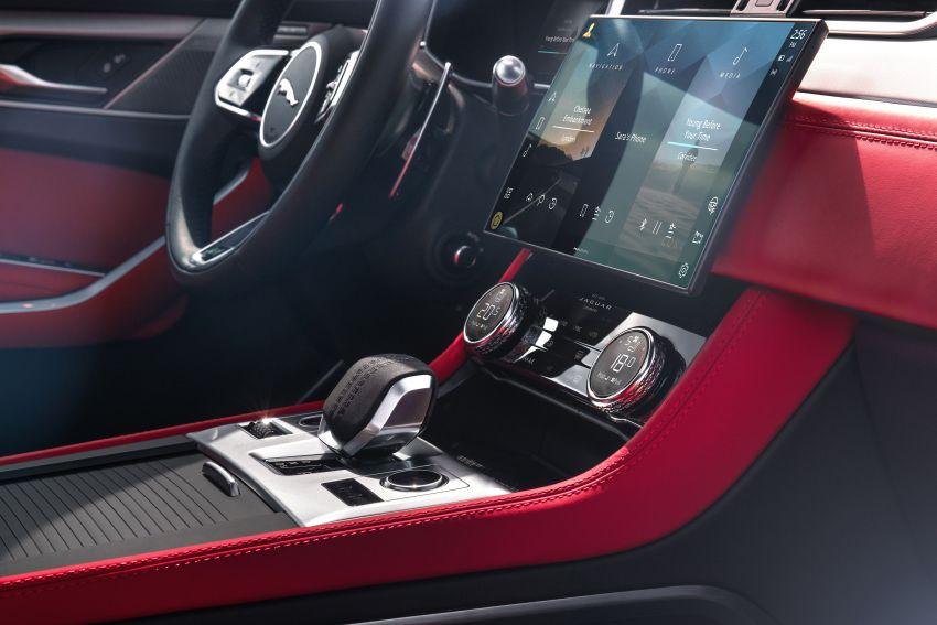 2021 Jaguar F-Pace – revised exterior and cabin, Pivi Pro, 404 PS/640 Nm P400e 2.0L turbo plug-in hybrid Image #1177144