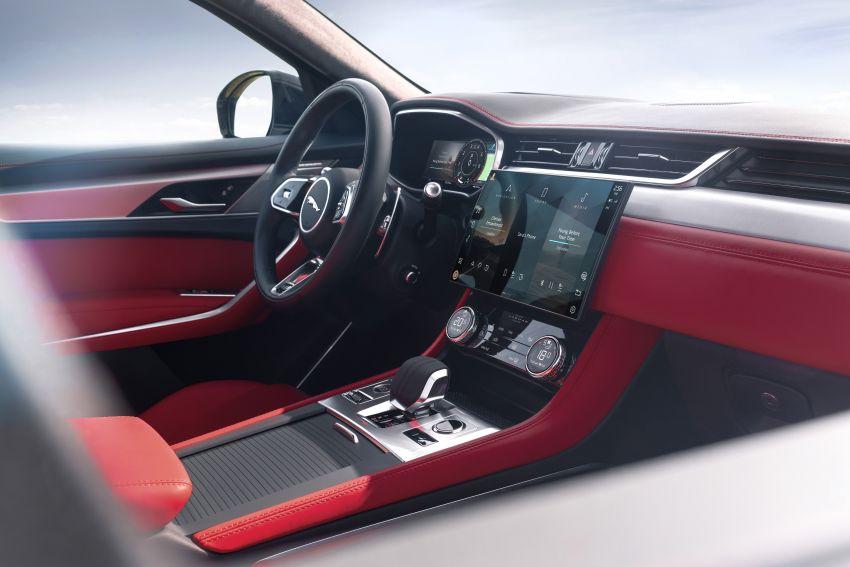 2021 Jaguar F-Pace – revised exterior and cabin, Pivi Pro, 404 PS/640 Nm P400e 2.0L turbo plug-in hybrid Image #1177139