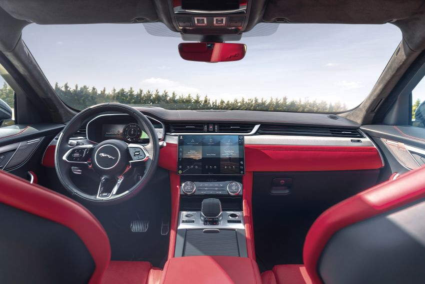 2021 Jaguar F-Pace – revised exterior and cabin, Pivi Pro, 404 PS/640 Nm P400e 2.0L turbo plug-in hybrid Image #1177137