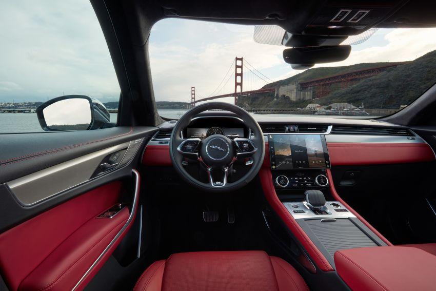 2021 Jaguar F-Pace – revised exterior and cabin, Pivi Pro, 404 PS/640 Nm P400e 2.0L turbo plug-in hybrid Image #1177123