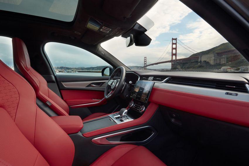 2021 Jaguar F-Pace – revised exterior and cabin, Pivi Pro, 404 PS/640 Nm P400e 2.0L turbo plug-in hybrid Image #1177122