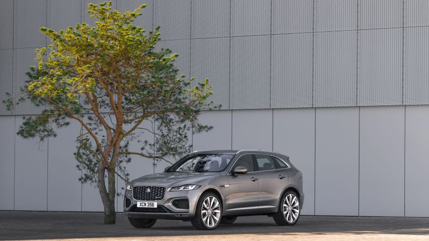 2021 Jaguar F-Pace – revised exterior and cabin, Pivi Pro, 404 PS/640 Nm P400e 2.0L turbo plug-in hybrid Image #1177017