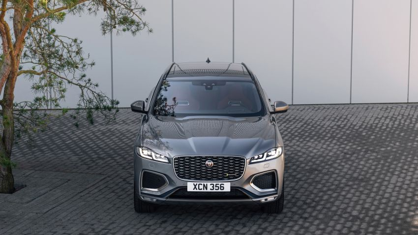 2021 Jaguar F-Pace – revised exterior and cabin, Pivi Pro, 404 PS/640 Nm P400e 2.0L turbo plug-in hybrid Image #1177016