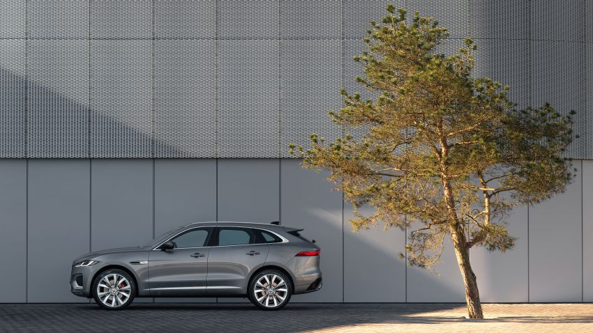 2021 Jaguar F-Pace – revised exterior and cabin, Pivi Pro, 404 PS/640 Nm P400e 2.0L turbo plug-in hybrid Image #1177014