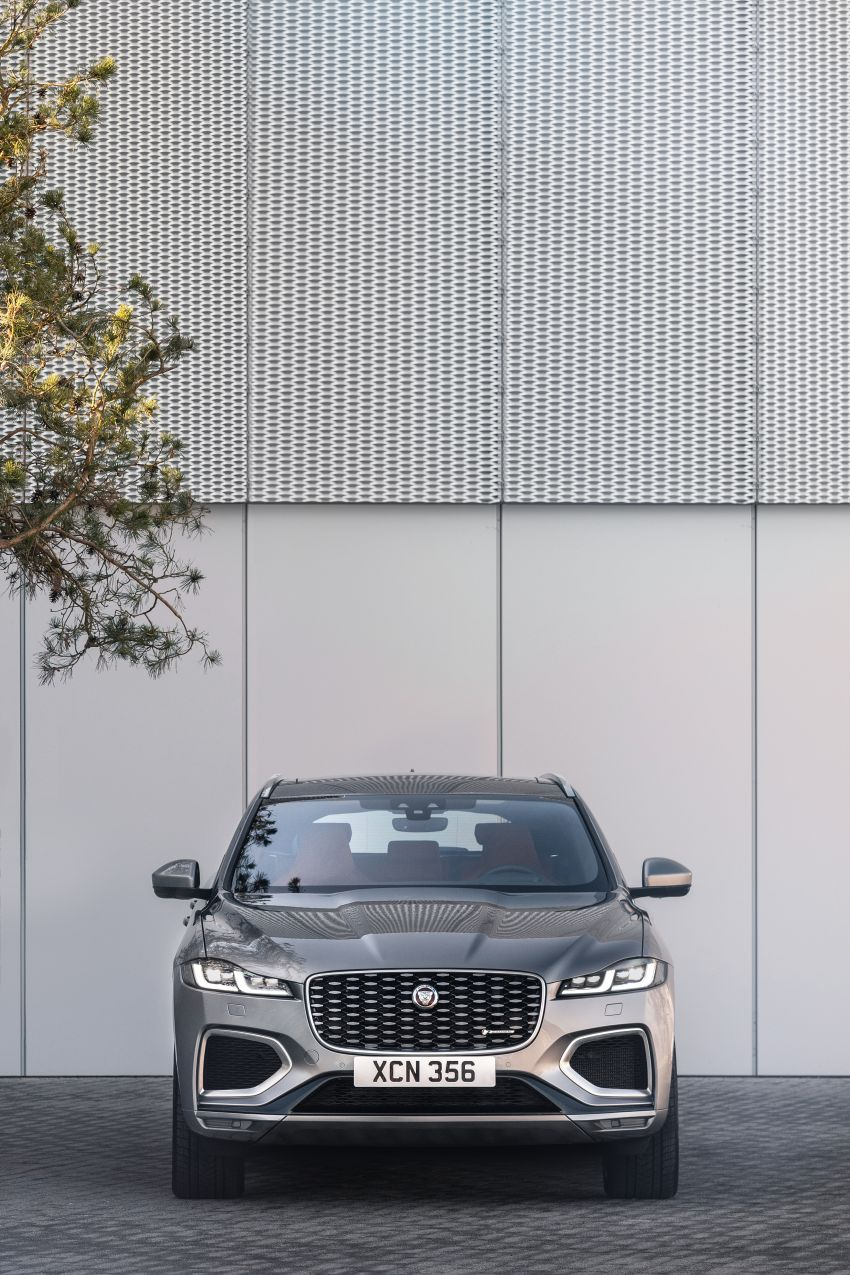 2021 Jaguar F-Pace – revised exterior and cabin, Pivi Pro, 404 PS/640 Nm P400e 2.0L turbo plug-in hybrid Image #1177013