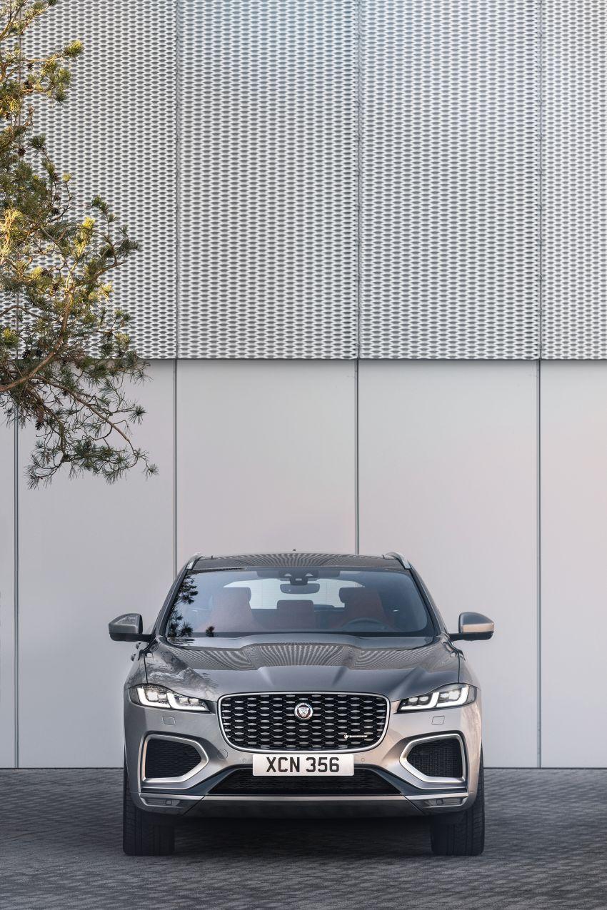 2021 Jaguar F-Pace – revised exterior and cabin, Pivi Pro, 404 PS/640 Nm P400e 2.0L turbo plug-in hybrid Image #1177013