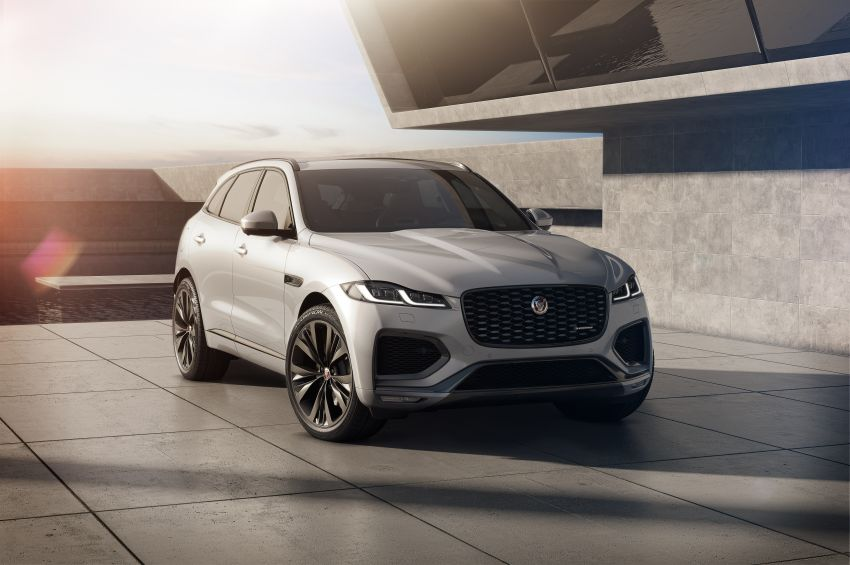 2021 Jaguar F-Pace – revised exterior and cabin, Pivi Pro, 404 PS/640 Nm P400e 2.0L turbo plug-in hybrid Image #1177004