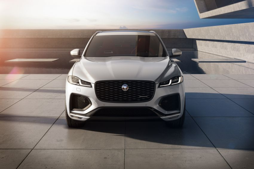 2021 Jaguar F-Pace – revised exterior and cabin, Pivi Pro, 404 PS/640 Nm P400e 2.0L turbo plug-in hybrid Image #1177002