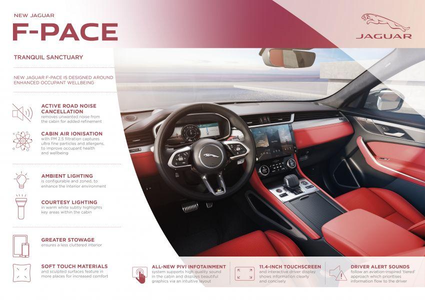 2021 Jaguar F-Pace – revised exterior and cabin, Pivi Pro, 404 PS/640 Nm P400e 2.0L turbo plug-in hybrid Image #1177150