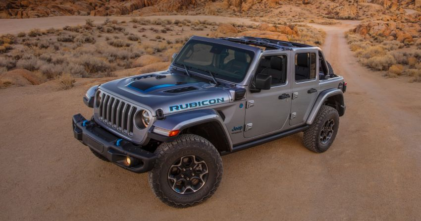 2021 Jeep Wrangler 4xe debuts – 375 hp/637 Nm 2.0L turbo twin-motor plug-in hybrid; 40 km electric range Image #1171371