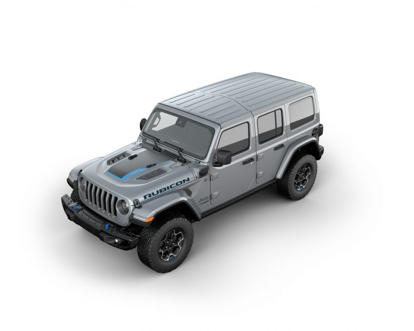 2021 Jeep Wrangler 4xe debuts – 375 hp/637 Nm 2.0L turbo twin-motor plug-in hybrid; 40 km electric range Image #1171329