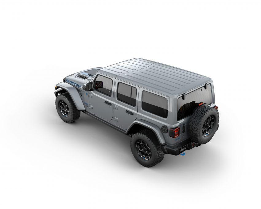 2021 Jeep Wrangler 4xe debuts – 375 hp/637 Nm 2.0L turbo twin-motor plug-in hybrid; 40 km electric range Image #1171326
