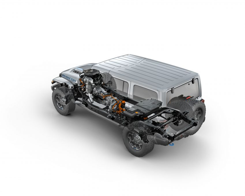 2021 Jeep Wrangler 4xe debuts – 375 hp/637 Nm 2.0L turbo twin-motor plug-in hybrid; 40 km electric range Image #1171325