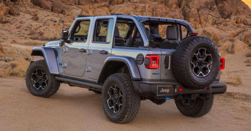 2021 Jeep Wrangler 4xe debuts – 375 hp/637 Nm 2.0L turbo twin-motor plug-in hybrid; 40 km electric range Image #1171367