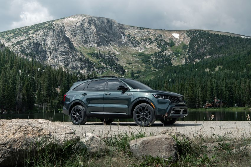 2021 Kia Sorento for the US – three-row SUV offered with four powertrains, six- or seven-seat layouts Image #1181350
