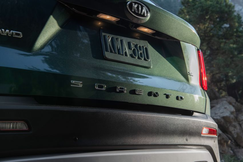 2021 Kia Sorento for the US – three-row SUV offered with four powertrains, six- or seven-seat layouts Image #1181379