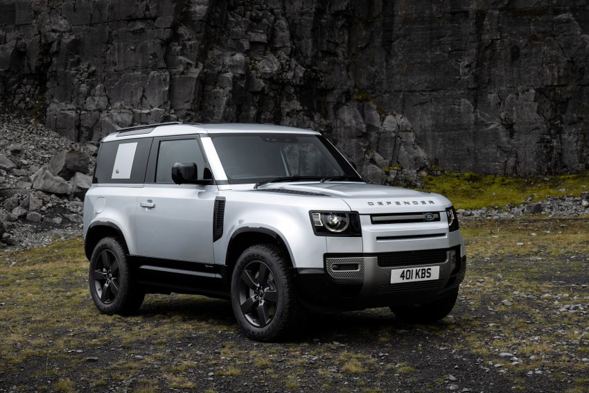 2021 Land Rover Defender – X-Dynamic trim variant, 404 PS P400e PHEV and inline-six Ingenium diesels Image #1173618