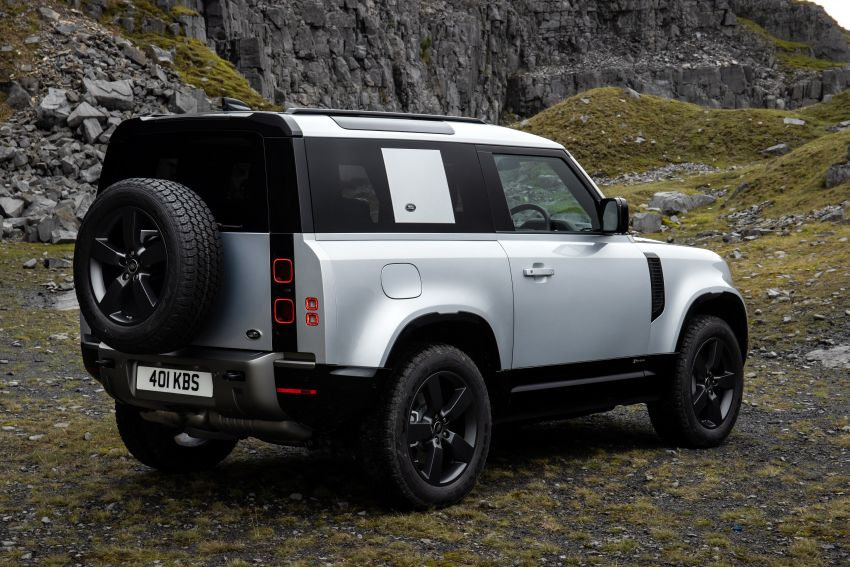 2021 Land Rover Defender – X-Dynamic trim variant, 404 PS P400e PHEV and inline-six Ingenium diesels Image #1173617