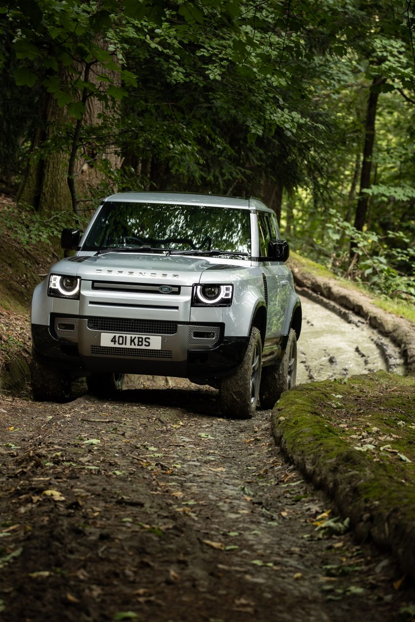 2021 Land Rover Defender – X-Dynamic trim variant, 404 PS P400e PHEV and inline-six Ingenium diesels Image #1173616