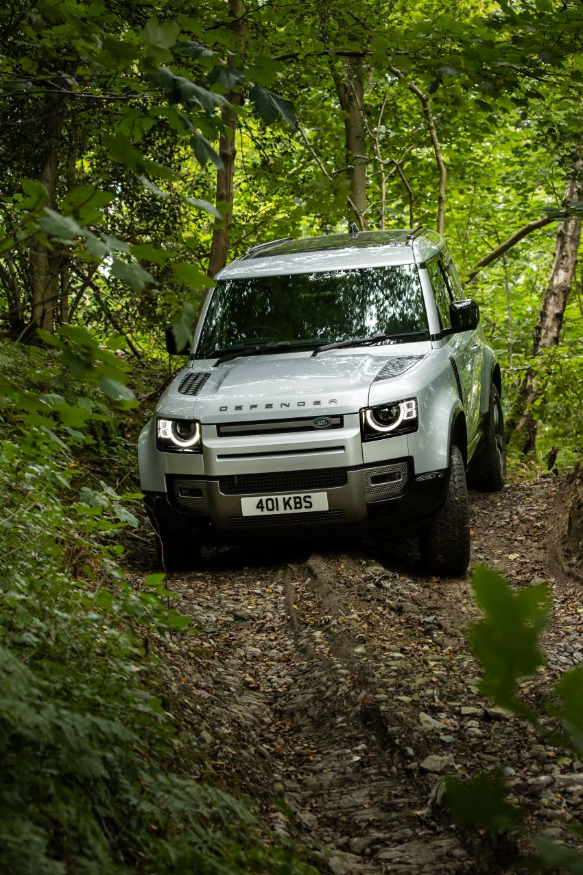 2021 Land Rover Defender – X-Dynamic trim variant, 404 PS P400e PHEV and inline-six Ingenium diesels Image #1173614