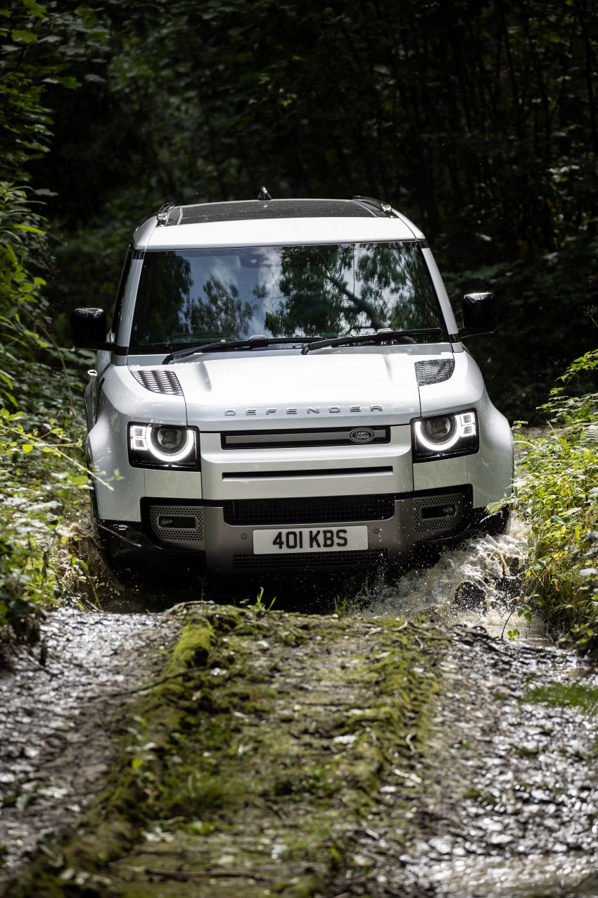 2021 Land Rover Defender – X-Dynamic trim variant, 404 PS P400e PHEV and inline-six Ingenium diesels Image #1173613