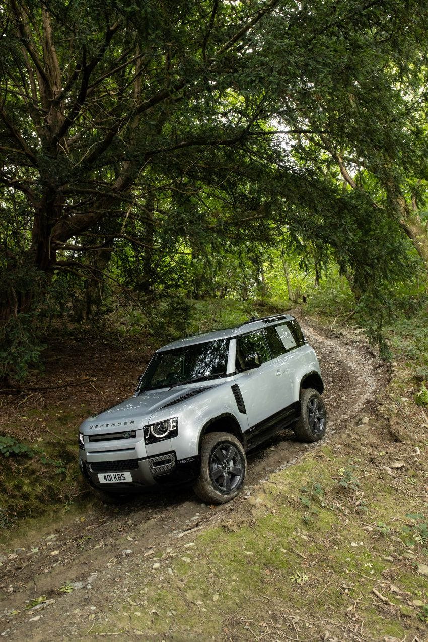 2021 Land Rover Defender – X-Dynamic trim variant, 404 PS P400e PHEV and inline-six Ingenium diesels Image #1173607