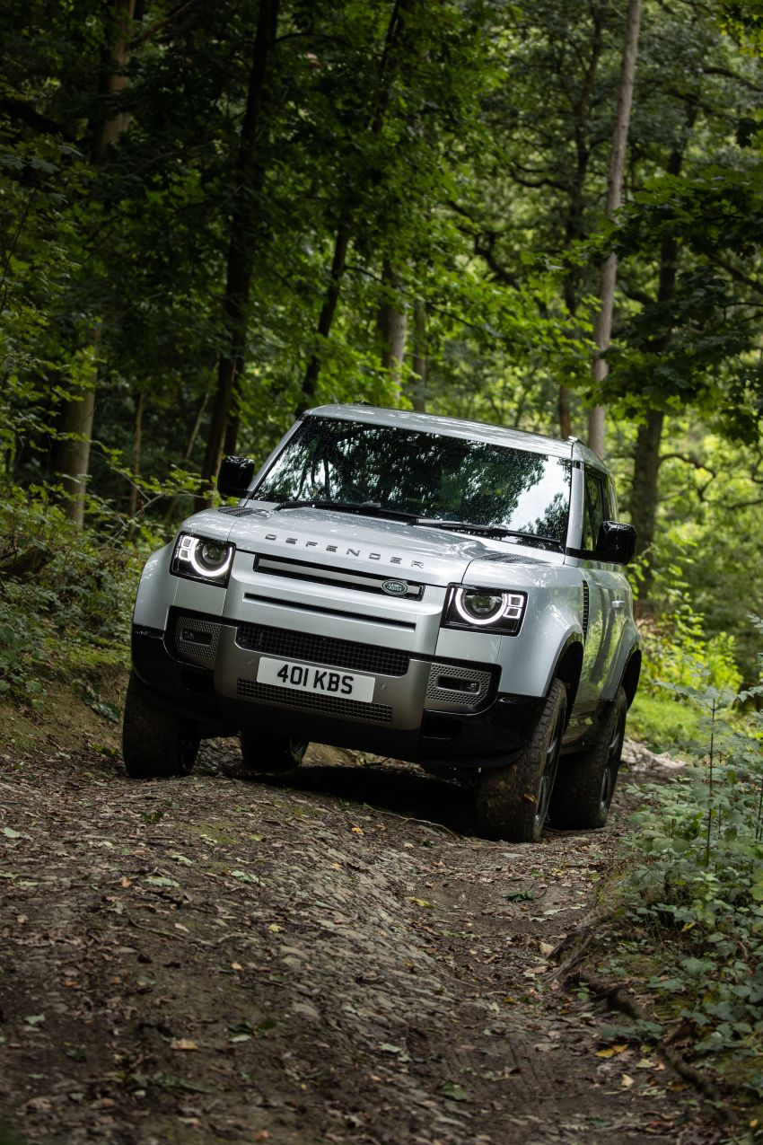 2021 Land Rover Defender – X-Dynamic trim variant, 404 PS P400e PHEV and inline-six Ingenium diesels Image #1173605