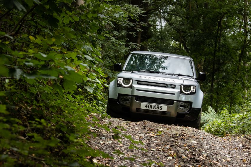2021 Land Rover Defender – X-Dynamic trim variant, 404 PS P400e PHEV and inline-six Ingenium diesels Image #1173604