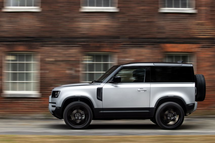 2021 Land Rover Defender – X-Dynamic trim variant, 404 PS P400e PHEV and inline-six Ingenium diesels Image #1173429