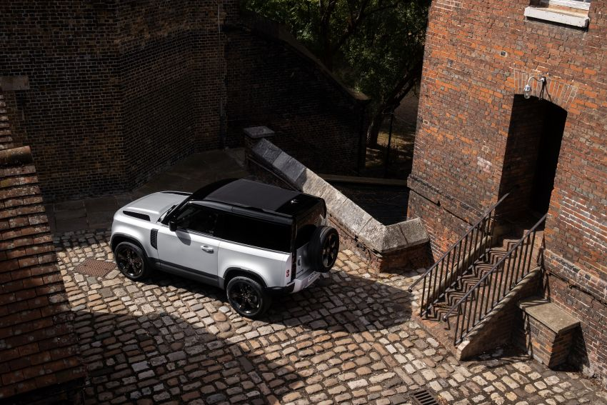 2021 Land Rover Defender – X-Dynamic trim variant, 404 PS P400e PHEV and inline-six Ingenium diesels Image #1173419