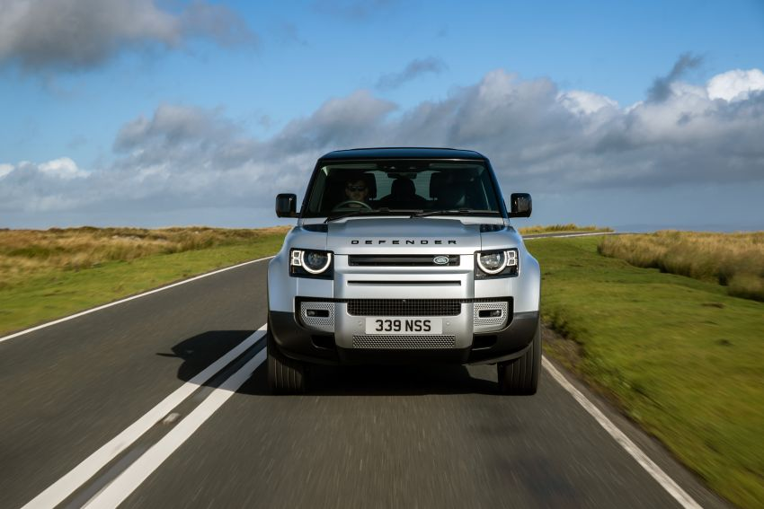 2021 Land Rover Defender – X-Dynamic trim variant, 404 PS P400e PHEV and inline-six Ingenium diesels Image #1173417
