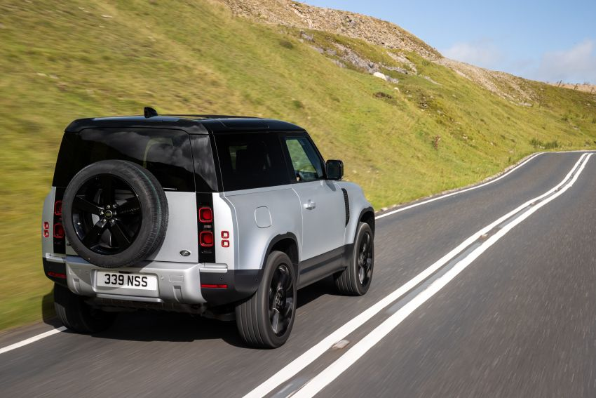 2021 Land Rover Defender – X-Dynamic trim variant, 404 PS P400e PHEV and inline-six Ingenium diesels Image #1173415