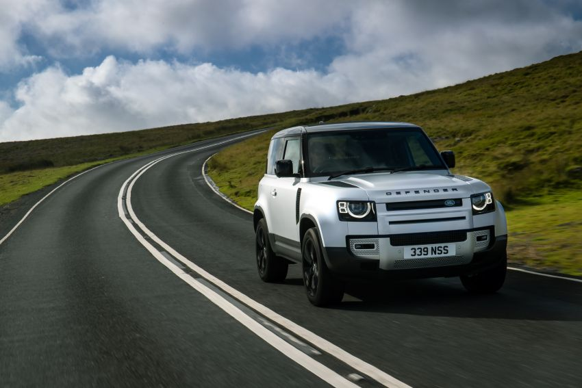 2021 Land Rover Defender – X-Dynamic trim variant, 404 PS P400e PHEV and inline-six Ingenium diesels Image #1173413