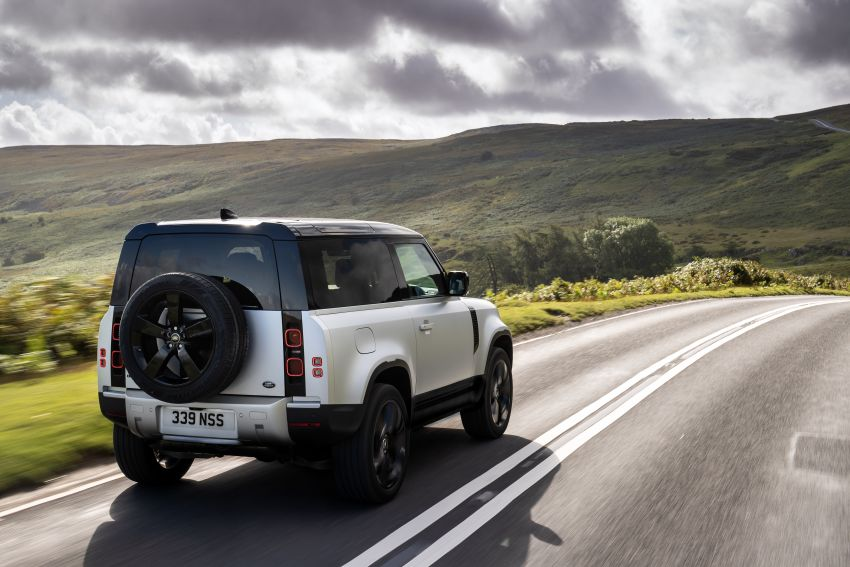 2021 Land Rover Defender – X-Dynamic trim variant, 404 PS P400e PHEV and inline-six Ingenium diesels Image #1173412