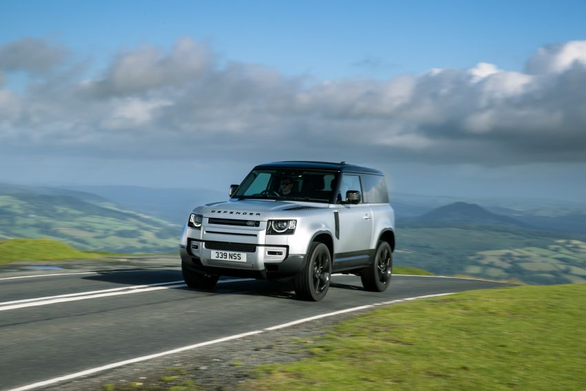 2021 Land Rover Defender – X-Dynamic trim variant, 404 PS P400e PHEV and inline-six Ingenium diesels Image #1173410