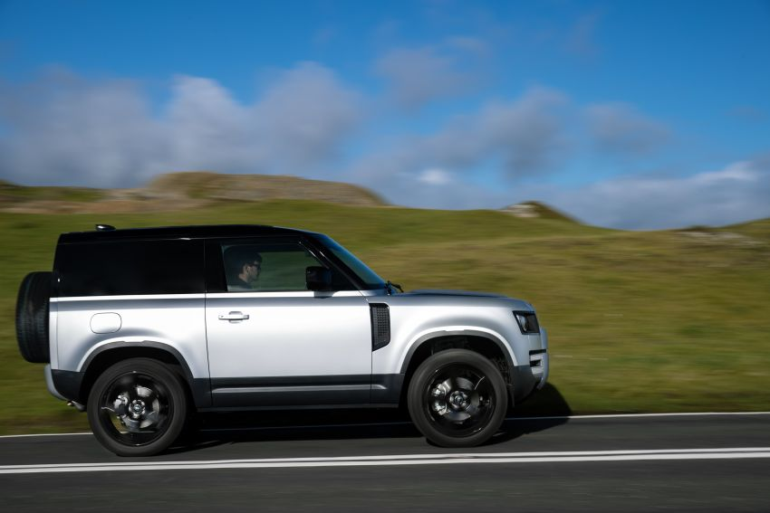 2021 Land Rover Defender – X-Dynamic trim variant, 404 PS P400e PHEV and inline-six Ingenium diesels Image #1173407
