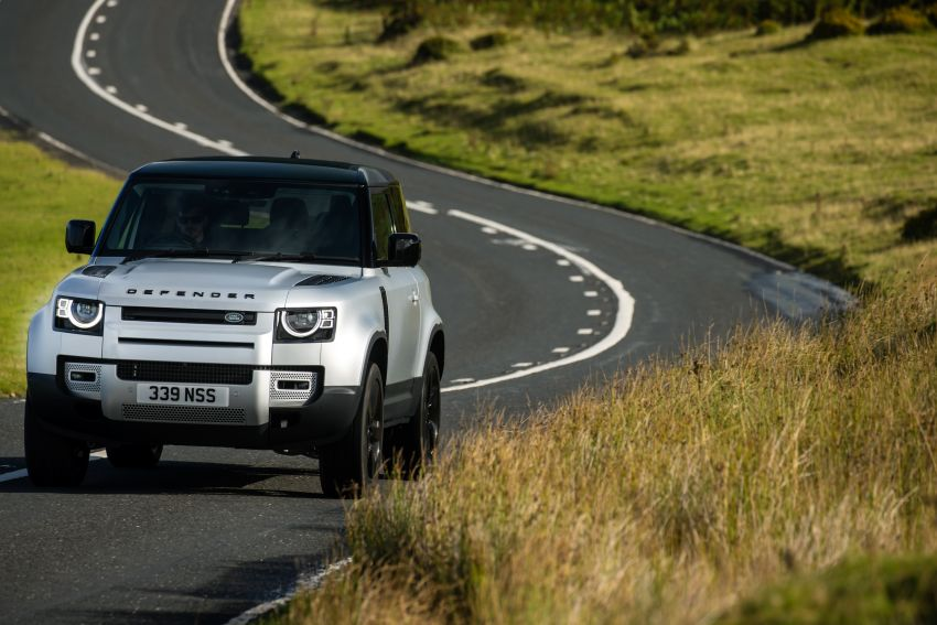 2021 Land Rover Defender – X-Dynamic trim variant, 404 PS P400e PHEV and inline-six Ingenium diesels Image #1173405